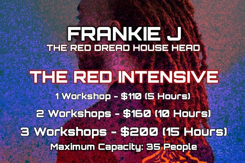 The Red Intensives - Frankie J Sydney Tour