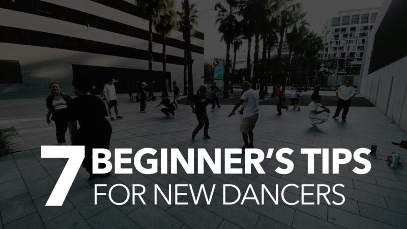 7 Beginner's Tips for New Dancers