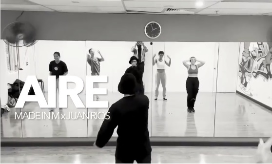 Hiphop Beginners Class Video: Juan Rios x Made In M - Aire
