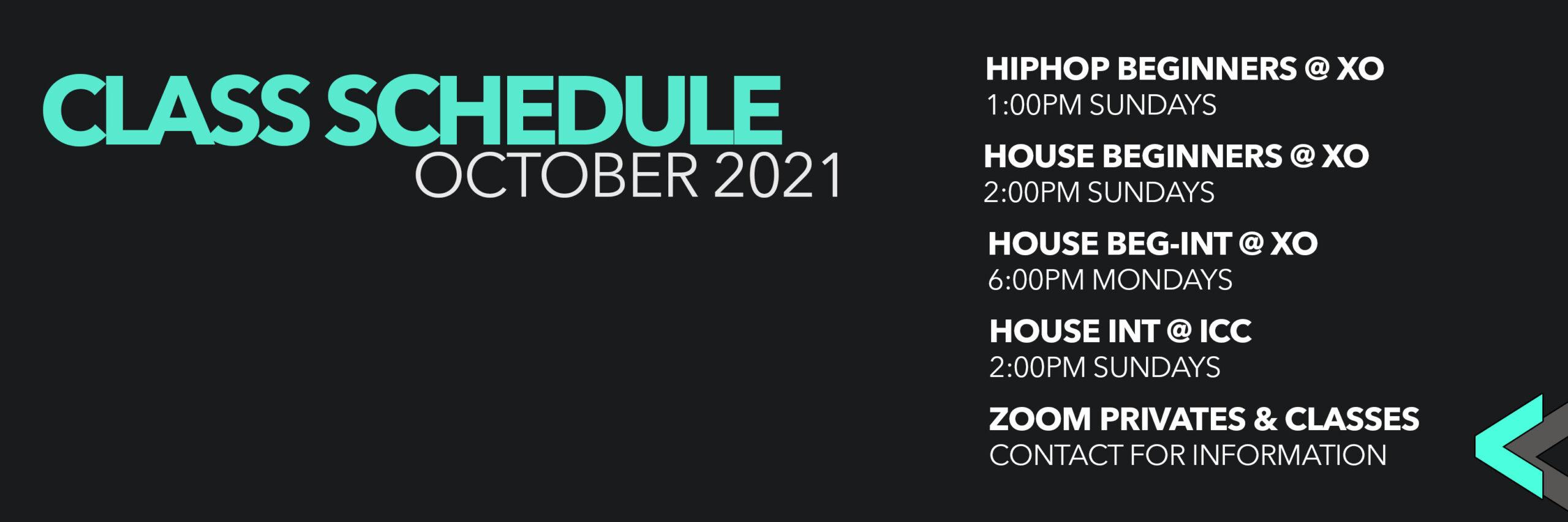Class Schedule Update